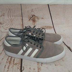 Adidas Eddie Van Halen Gray Canvas Sneakers